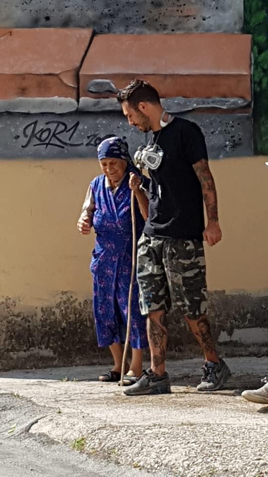 Fede Zenobi e Zia Ita, nella foto di Giampiero Scotini