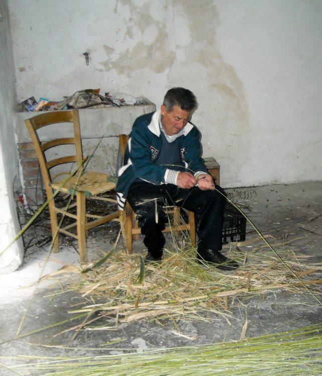 il burbero cestaio di Sepino